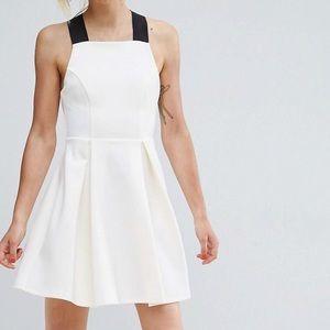 👗 NWOT ASOS Pinafore dress cross back